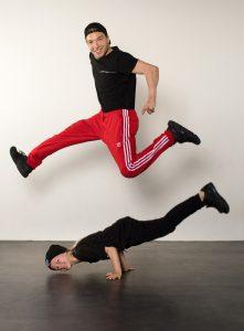 Breakdancer Redo ambassadeur Jeugdfonds Sport & Cultuur