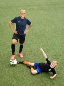 Shanice van de Sanden, ambassadeur Jeugdfonds Sport & Cultuur II