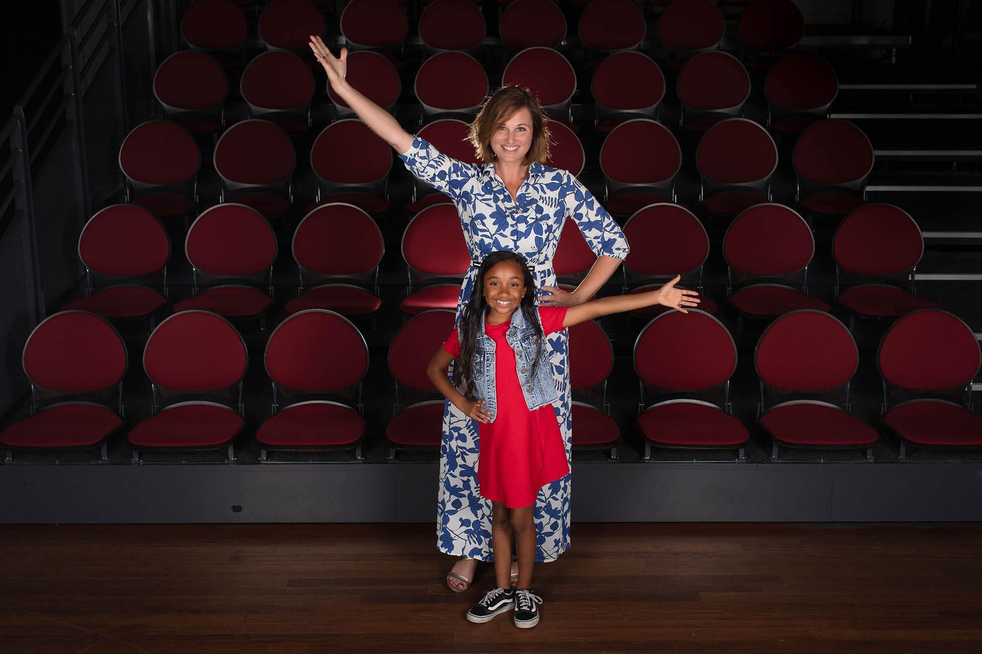 Rotterdam, 26-06-2019 Musical actrice Brigitte Heitzer, ambassadeur van het Jeugdfonds Sport & Cultuur. Foto: Bastiaan Heus