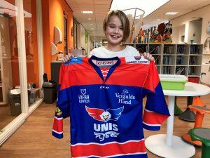 Emily IJshockey Jeugdfonds Sport & Cultuur