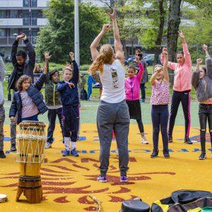 Cultuur@CruyffCourts | Jeugdfonds Sport & Cultuur