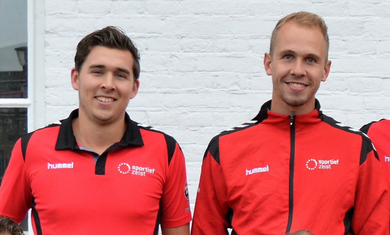 Buurtsportcoaches Maikel en Ruben