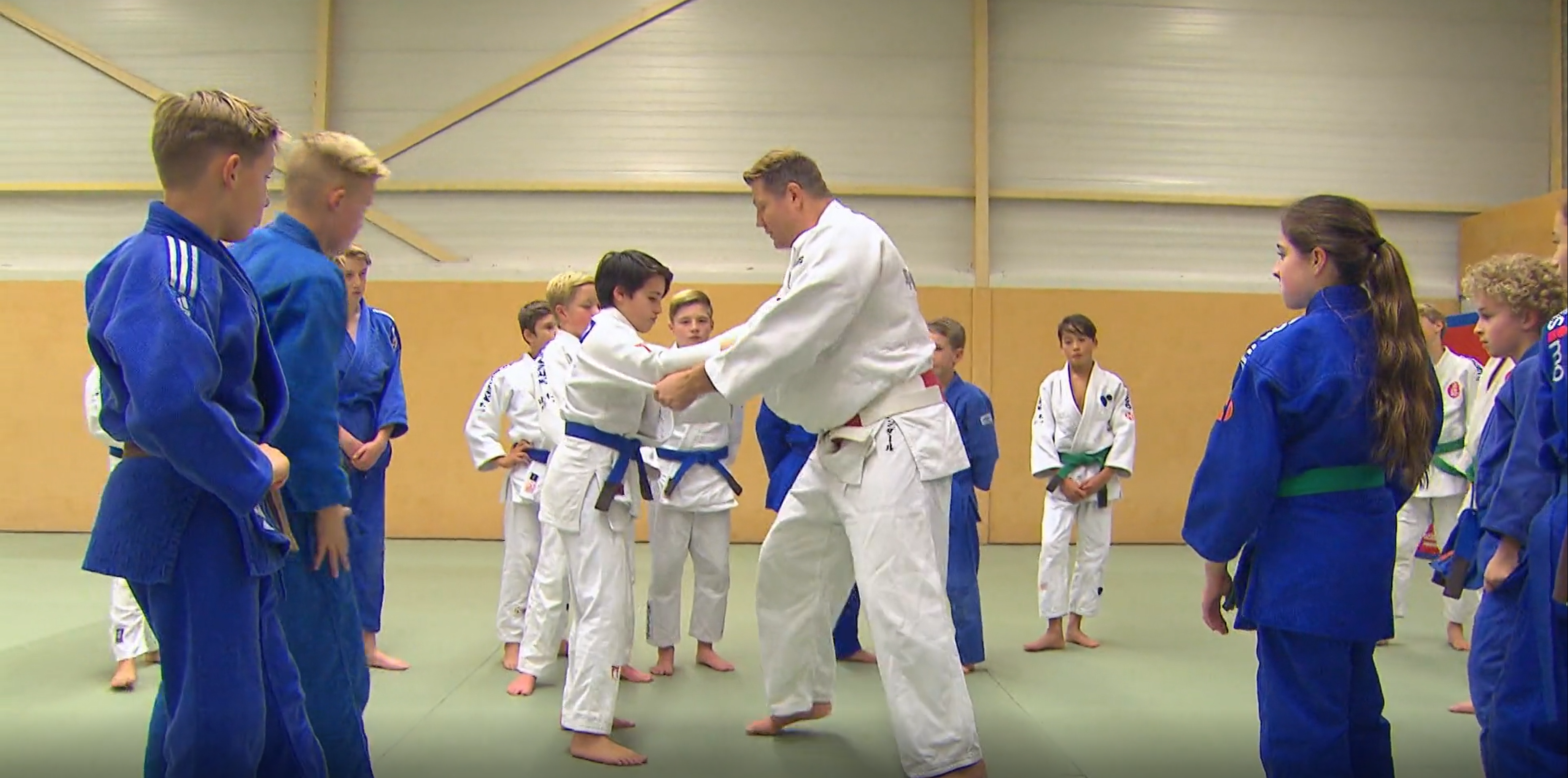 Dennis van der Geest judotraining Jeugdfonds