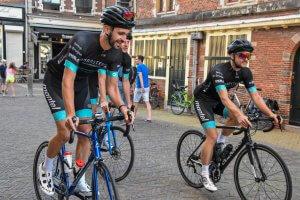 Neal Beentjes: '600 kilometer fietsen voor het Jeugdfonds'