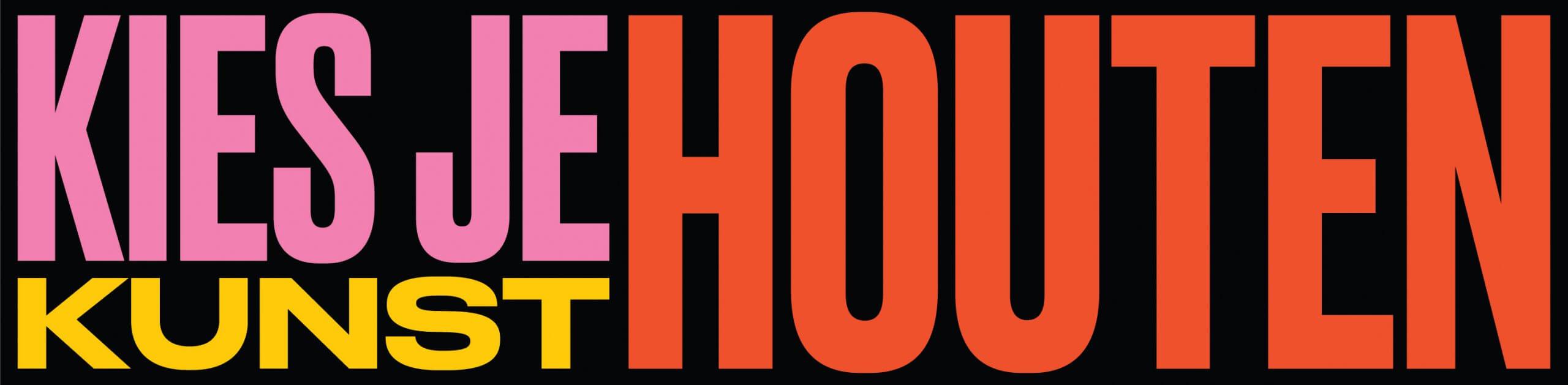 Logo Kies je Kunst Houten