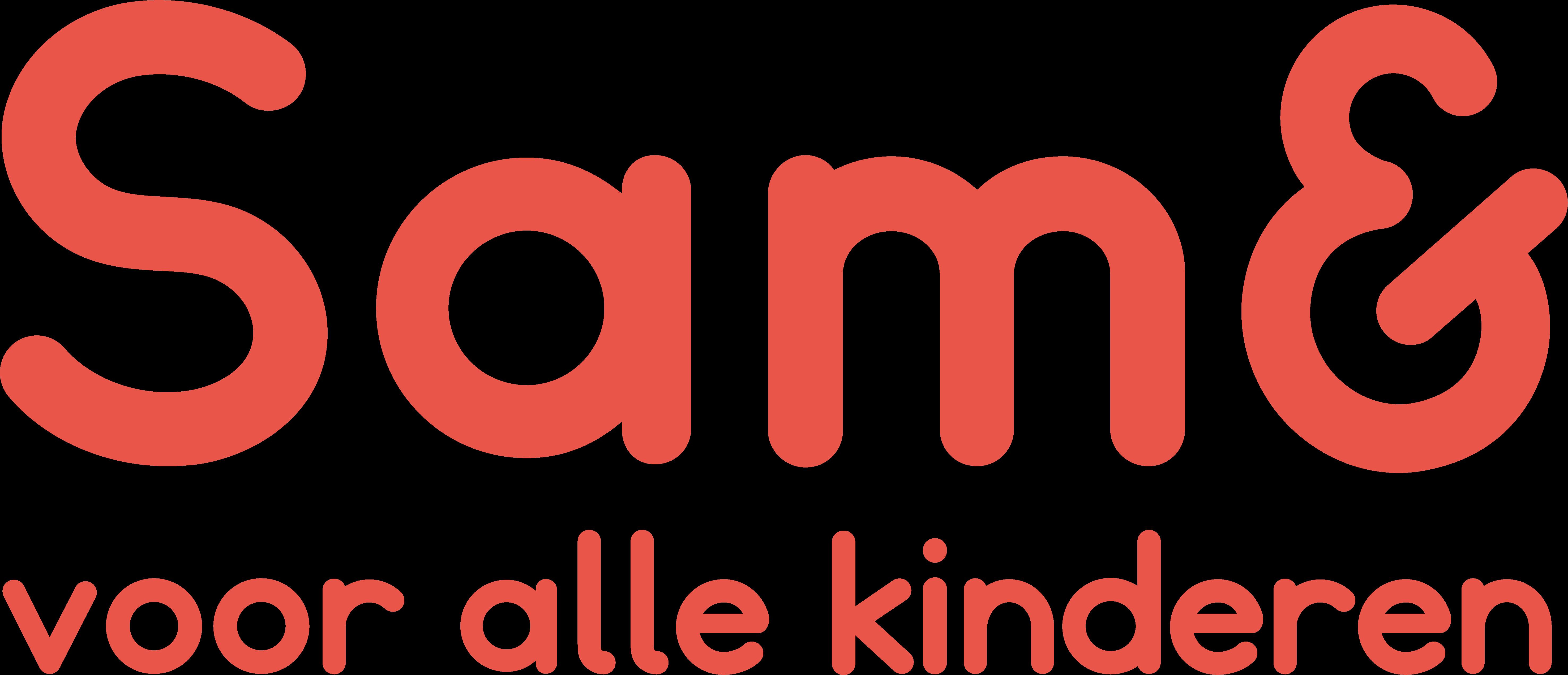 Logo Sam& voor alle kinderen